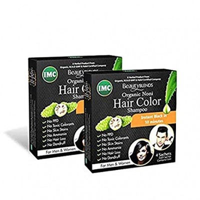 IMC Hair Colour Shampoo (4 Pcs)