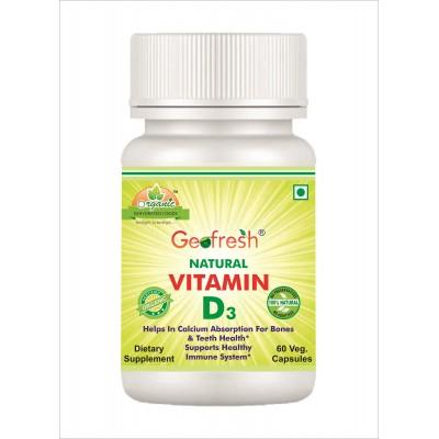 Natural Vitamin D3 Capsules