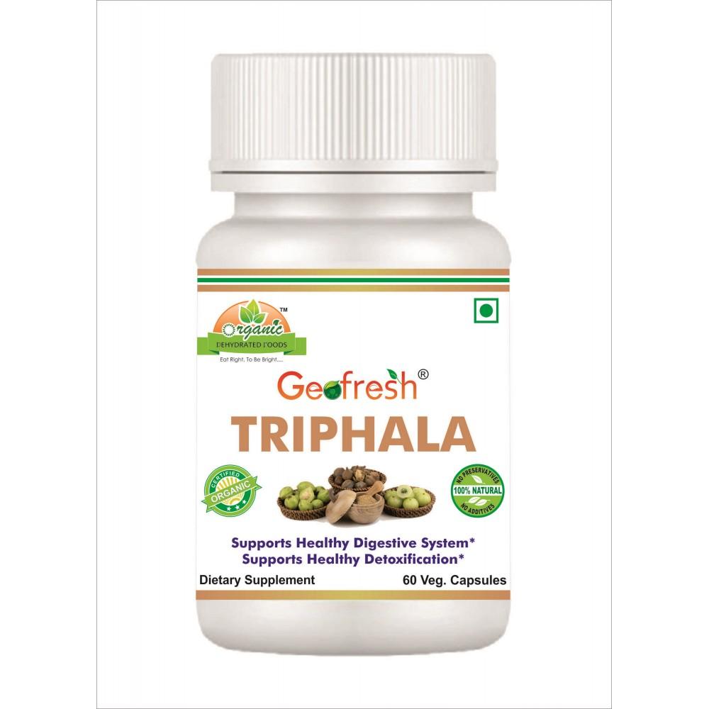 Geofresh Triphala Capsules, Triphala Capsule - Ayurvedmart