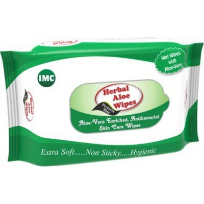 IMC Aloe Wipes (20 Pcs)
