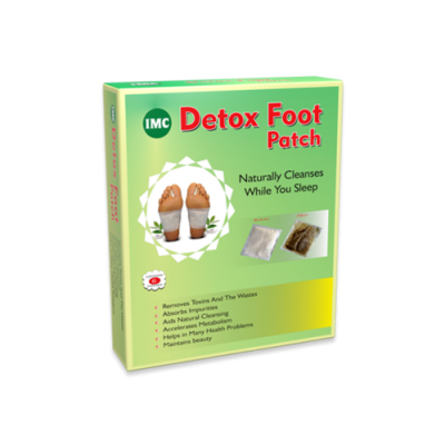 IMC Detox Foot Patch (Set Of 10Pcs)