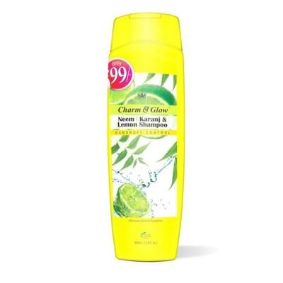 Charm & Glow Neem Karanj & Lemon Shampoo