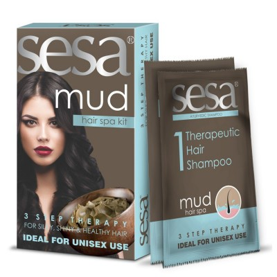 Sesa Mud Hair Spa Kit