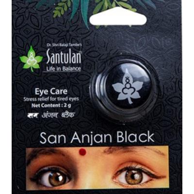 Santulan San Anjan (Kajal) Black
