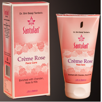 Santulan Creme Rose