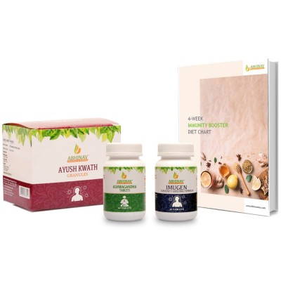 4 Week Ultimate Immunity Booster with Diet – plan and Ayurvedic Product Kit