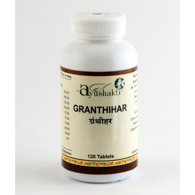 Ayushakti GRANTHIHAR, 120 TAB