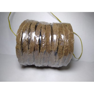 organic cow dung cakes Big ( 5 Pcs)