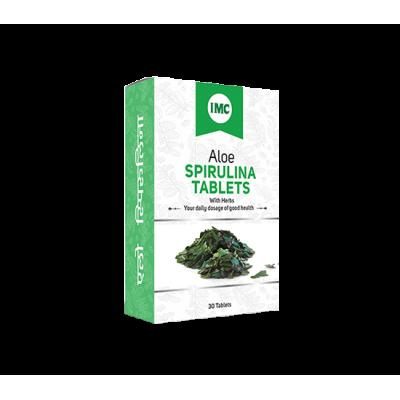 IMC Aloe Spirulina (30 Tablets)