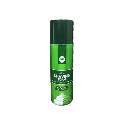 IMC ALOE SHAVING FOAM