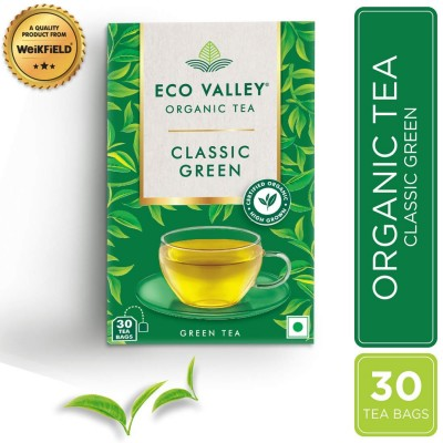 Organic Green Tea - Classic Green, 30 Tea Bags