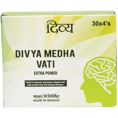 Patanjali Divya Medha Vati, 120 Tab