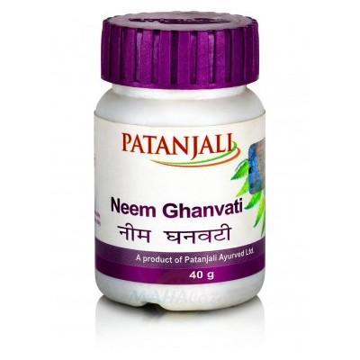 Patanjali Neem Ghanvati, 60 Tab
