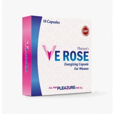 Ve Rose Energizing Capsule, Women Sex Energizing, 10 Capsules