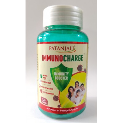 Patanjali ImmunoCharge, 120 Tablets
