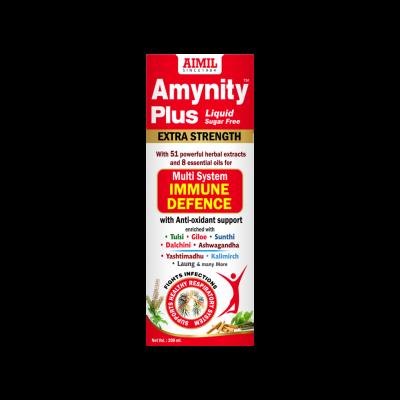 Amynity Plus Syrup (Sugar Free)