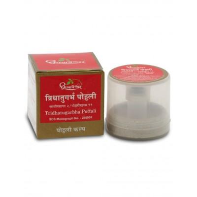 Dhootapapeshwar Tridhatugarbha Pottali, 1 Pottali