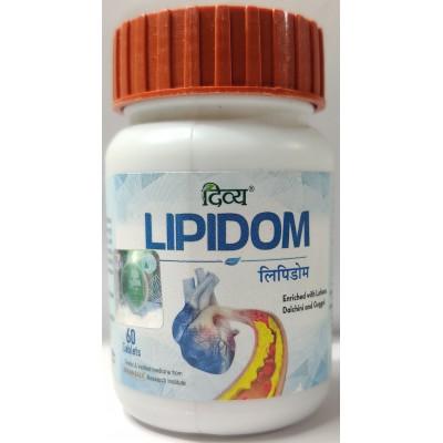Divya Lipidom, 60 Tablets