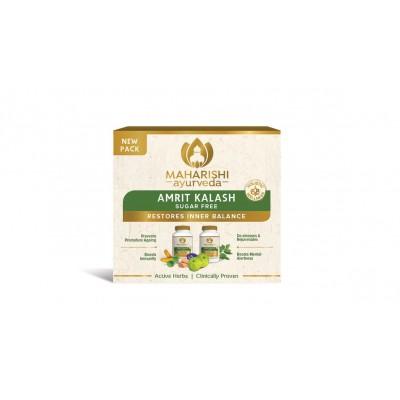 Maharishi Ayurveda Amrit Kalash (MAK SF DP) - Sugar Free (60 Nectar Tablets & 60 Ambrosia Tablets)