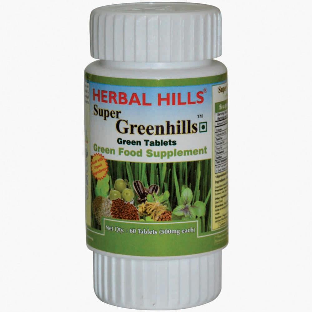Super Greenhills, 60 Tablets