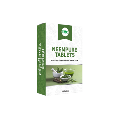 IMC Herbal Neem Pure, 30 Tablets