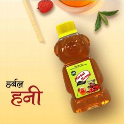 IMC Herbal Honey with Kesar & Ginger, 350gm