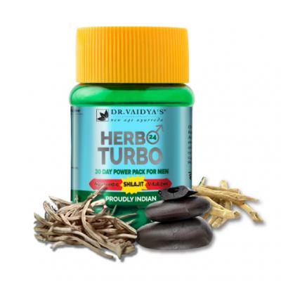 Herbo 24 Turbo Capsules: Natural Power For Men