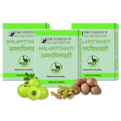 Amlapittavati Pills: For Acidity and Gas