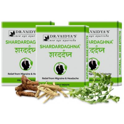 Shardardaghna Pills: For Headache & Migraine Mangement/relief