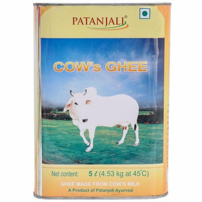Patanjali Cow Ghee, 5 litre