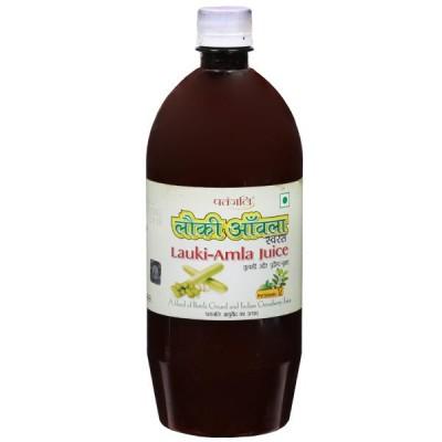 Patanjali Lauki Amla Juice, 1 Litre