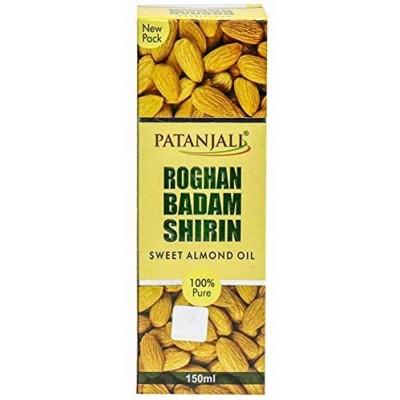Patanjali Badam Rogan Shirin Oil, 60 ml