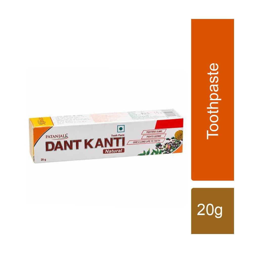 Patanjali Dant Kanti Natural Toothpaste, 20 gm