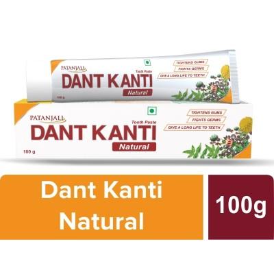 Patanjali Dant Kanti Natural Toothpaste, 100 gm