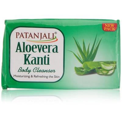 Patanjali Aloevera Kanti Soap, 75 gm