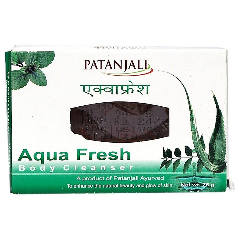 Patanjali Aquafresh Soap, 75 gm