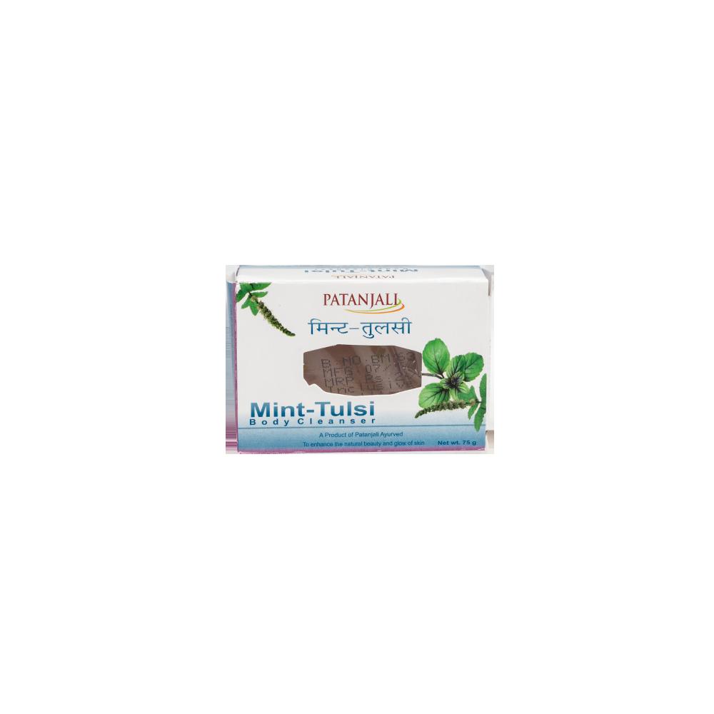 Patanjali Mint Tulsi Soap, 75 gm