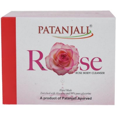 Patanjali Rose Body Cleanser, 125 gm