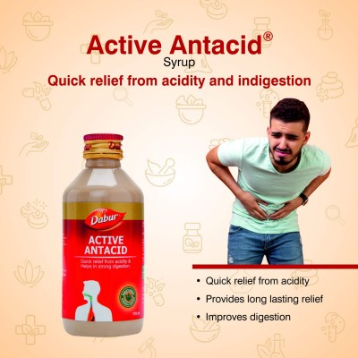 Dabur Active Antacid 170 ml