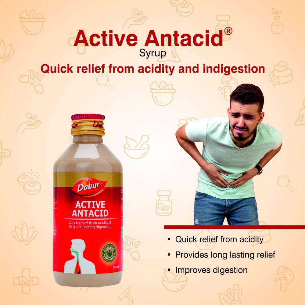 Dabur Active Antacid 170 ml