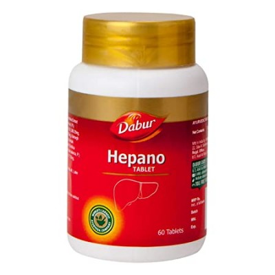 Dabur Hepano, 60 Tablets