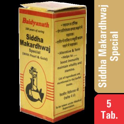 Baidyanath Siddha Makardhwaj Special(S.Y) , 10 TAB