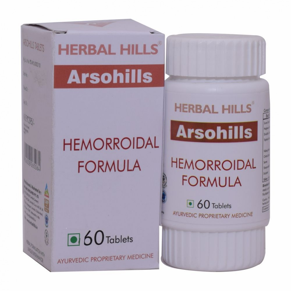 Herbal Hill Arsohills, 60 Tablets