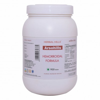 Herbal Hill Arsohills, 900 Tablets