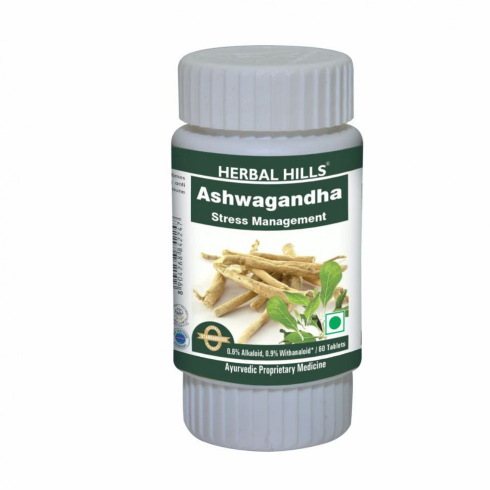 Herbal Hills Ashwagandhahills Tablets
