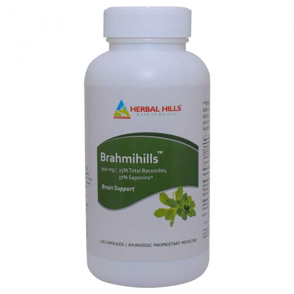 Herbal Hills Brahmihills, 120 Capsule