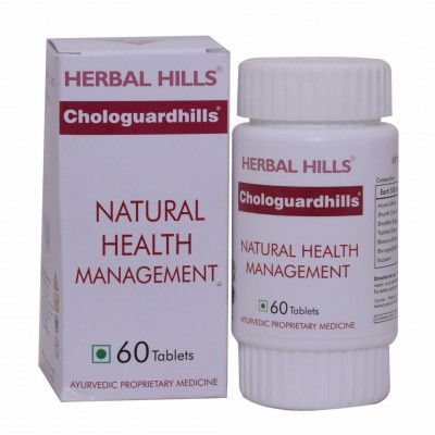 Herbal Hills Chologuardhills, 60 Tablets