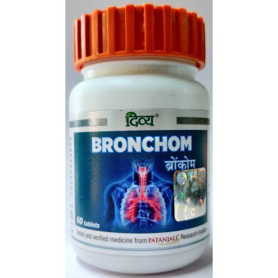 Divya Bronchom, 60 Tablets
