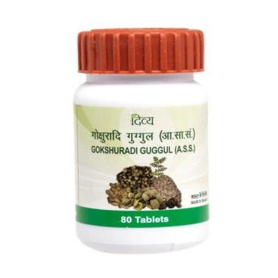 Patanjali Divya Gokshuradi Guggul, 80 Tablets