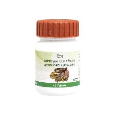 Patanjali Divya Saptvinshati Guggul, 40 Tablets